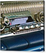 1961 Pontiac Catalina Radio Acrylic Print