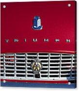 1961 Triumph Tr3a Roadster Grille Emblem Acrylic Print