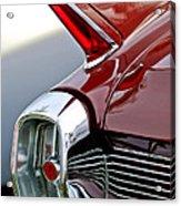 1962 Cadillac Eldorado Taillight Acrylic Print