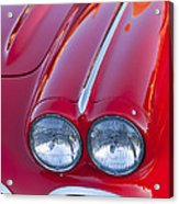 1962 Chevrolet Corvette Headlight Acrylic Print