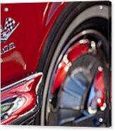 1962 Chevrolet Impala 409 Emblem Acrylic Print