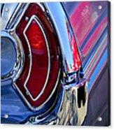 1962 Pontiac Catalina Convertible Taillight Acrylic Print