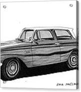 1962 Rambler American Acrylic Print
