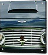 1963 Aston Martin Db4 Series V Vantage Gt Grille Acrylic Print by Jill Reger
