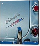 1963 Austin-healey Taillight Acrylic Print