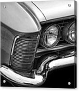 1963 Buick Riviera B/w Acrylic Print