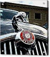 1963 Jaguar Mkii Fantasy Car Acrylic Print