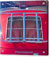 1963 Red Porsche 356b Super 90 Back End Acrylic Print