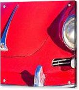 1963 Red Porsche Acrylic Print