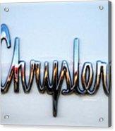 1964 Chrysler Emblem  Acrylic Print
