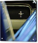 1964 Ford Mustang Emblem Acrylic Print