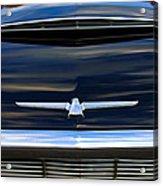 1964 Ford Thunderbird Hood Emblem Acrylic Print