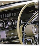 1964 Ford Thunderbird Steering Wheel Acrylic Print