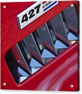 1965 Ac Cobra Emblem 2 Acrylic Print