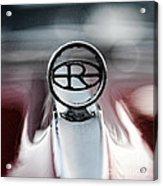 1965 Buick Riveria Hood Emblem Acrylic Print