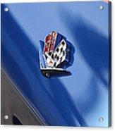 1965 Chevrolet Corvette Emblem Acrylic Print