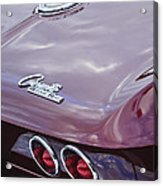 1965 Chevrolet Corvette Tail Light Acrylic Print