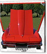 1965 Corvette Acrylic Print