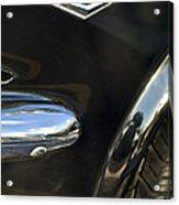 1965 Ford Mustang Emblem 3 Acrylic Print
