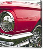 1965 Ford Thunderbird Front End Acrylic Print