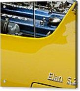 1965 Lotus Elan S2 Engine Acrylic Print