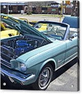 1965 Mustang Convertible Acrylic Print
