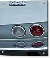 1966 Chevrolet Corvette Tail Light 2 Acrylic Print