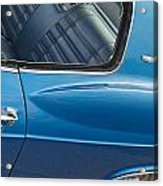 1966 Chevy Caprice Chevrolet Back Clip Acrylic Print