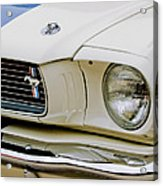 1966 Ford Shelby Gt 350 Grille Emblem Acrylic Print