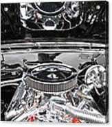 1967 Chevrolet Chevelle Ss Engine 2 Acrylic Print