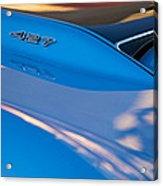1967 Chevrolet Corvette 427 Hood Emblem Acrylic Print