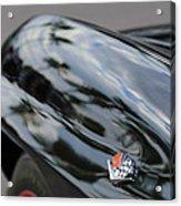 1967 Chevrolet Corvette Fender Emblem Acrylic Print