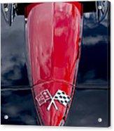 1967 Chevrolet Corvette Hood Emblem 5 Acrylic Print