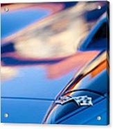 1967 Chevrolet Corvette Hood Emblem Acrylic Print