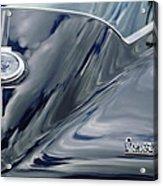 1967 Chevrolet Corvette Rear Emblem 2 Acrylic Print