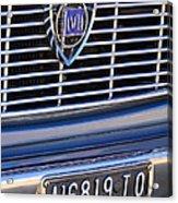 1967 Lancia Fulvia Berlina Grille Emblem Acrylic Print