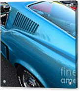 1968 Ford Mustang Fastback  Profile Acrylic Print