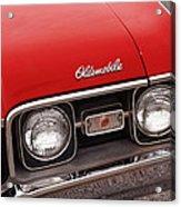1968 Oldsmobile Cutlass Supreme Acrylic Print