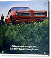 1968 Pontiac Gto Acrylic Print