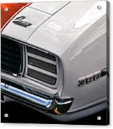 1969 Chevrolet Camaro Indianapolis 500 Pace Car Acrylic Print by Gordon Dean II
