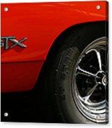 1969 Plymouth Gtx Hemi Acrylic Print