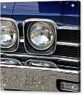 1970 Chevrolet Chevelle Antique Show Car Acrylic Print