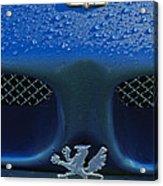 1970 Iso Rivolta Grifo Emblem 2 Acrylic Print