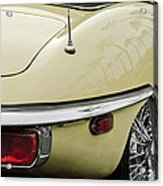 1970 Jaguar Xk Type-e Taillight 2 Acrylic Print