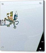 1971 Iso Grifo Can Am Emblem Acrylic Print