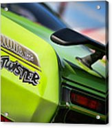 1971 Plymouth Duster Twister Acrylic Print