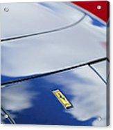 1972 Ferrari 365 Gtb 6c Emblem  Acrylic Print