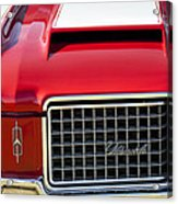 1972 Oldsmobile Grille Acrylic Print