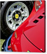1973 Ferrari 246 Gts Dino Emblem 5 Acrylic Print