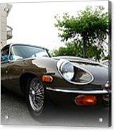 1973 Jaguar Type E Acrylic Print